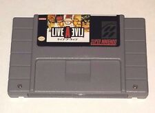 Live a Live - game For SNES Super Nintendo - Turn based role playing game