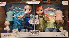 Disney Singing Frozen Animators' Deluxe Doll Gift Set Anna and Elsa NEW!