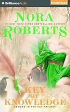 Key Trilogy: Key of Knowledge 2 by Nora Roberts (2015, CD, Unabridged)