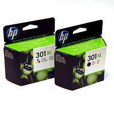 New Original HP 301XL Black & Colour Combo for HP Deskjet 2050 2540 4500