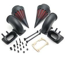 Cone Spike Air Cleaner Kit Intake Filter For Suzuki Boulevard M109 (All Year)Bla