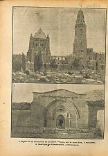 Abbey  the Dormition Hagia Maria Sion Jerusalem Palestine WWI 1918 ILLUSTRATION