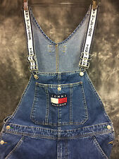Tommy Hilfiger Overall Jean Men's Blue 36 Excellent Vintage Carpenter