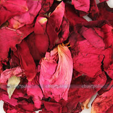 Dried Rose Flowers Petal for Confetti Pot-pourri Soap making Bath Bombs 10g Pack