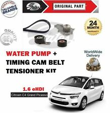 FOR CITROEN C4 GRAND PICASSO 1.6 HDI 8v 2010-  TIMING CAM BELT KIT + WATER PUMP