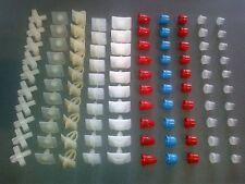 100 clips / buttons for Mercedes-Benz W108 W109 W110 W114 W115 W123