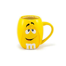 M&M's World Yellow Character Barrel Mug New
