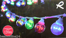 20 Piece Coloured LED Festoon Party String Light Kit - Connectable
