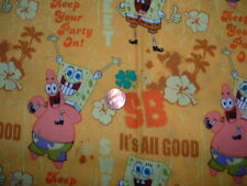 Nurses uniform scrub top xs sm medium large xl 2x 3x 4x 5x 6x  SPONGE BOB HOME