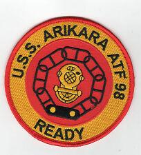 USS Arikara ATF-98 Fleet Tug Boat - Ready - 4 inch FE BC Patch Cat No c6405