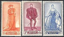 Belgium 1949 Portraits part set mint SG1302/1303/1304 (3)