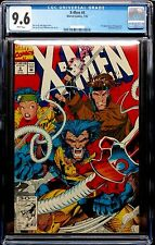 X-MEN (1991) # 4 WHITE PAGES CGC 9.6 NM+ - 1ST OMEGA RED APPEARANCE