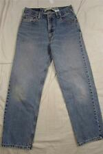 Levi 550 Relaxed Fit Faded Color Denim Jeans Tag Size 30x30 Measure 29x28
