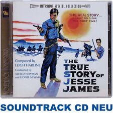 The True Story of Jesse James - Leigh Harline - Soundtrack CD NEU (INTRADA)