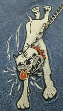 Vintage 1990 Paco dog on a leash blue jeans 36W/32L