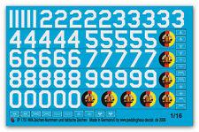 Peddinghaus  1751 1/16 NVA Zeichen und große Nummern sowie taktische Zeichen
