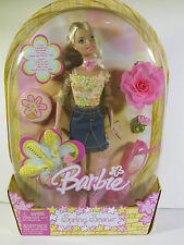 @ NEW NIB BARBIE DOLL 2005 BARBIE SPRING SCENE