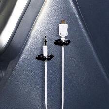 8Pcs Car Charger Line Headphone/USB Cable Car Clip Interior Accessories U87