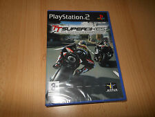 Ps2 tt superbikes real road racing championship Playstation pal neuf scellé