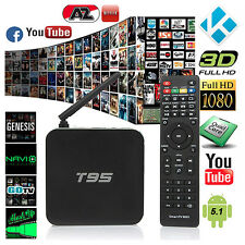T95 Fully Loaded Amlogic S905 Quad Core KODI 16.0 Android Smart 64-bit TV Box