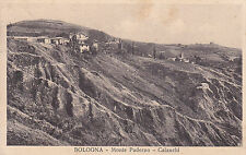 8558) BOLOGNA PANORAMA DI MONTE PADERNO CON I CALANCHI.
