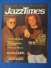 JAZZ TIMES MAGAZINE APRIL 1997 PAT METHENEY CHARLIE HADEN CECIL MCBEE MRAZ