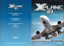 X PLANE 10 GLOBAL EDITION  8 DVD SET  WIN  MAC LINUX *NEW*