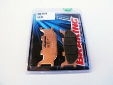 BRAKING PASTIGLIE FRENO ANTERIORE SINTER YAMAHA YP MAJESTY DX / ABS 250 2001