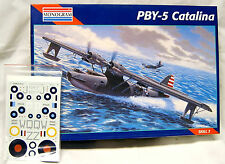 1/48 Monogram PBY-5 Catalina w/Resin Cockpit and Wheels/Decals/Book