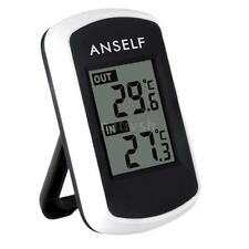 433MHz Wireless LCD Thermometer Indoor/Outdoor Temperature Sensor -40~60°C N8M5