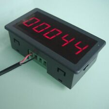 "0.56"" LED Digital Display Punch Counter Electronic Counter DC 12V-24V 0-99999"