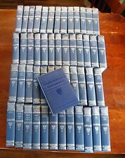 Set of 50 Harvard Classics Books Collectible + The Lectures Hardcover 1909-1914