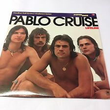 "Pablo Cruise 'Lifeline' EX/EX Classic Rock Vinyl LP 12"" Half Speed Master USA"