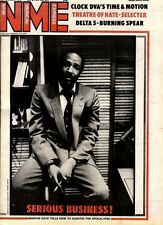 NME NEWSPAPER COVER FOR 28/2/1981 MARVIN GAYE