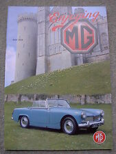 Enjoying MG (May 2004) ZS, MGB Windscreen & Seal Replacement, Electric windows