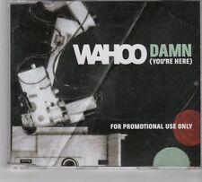 (GR31) Wahoo, Damn (You're Here) - 2007 DJ CD