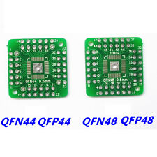 10PCS QFN44 QFP48 QFP44 PQFP LQFP Turn to DIP SMD Adapter to DIP48 Board