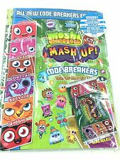 Topps Moshi Monsters Code Breakers Card Game Offcial Album Inc Pages + Free pack