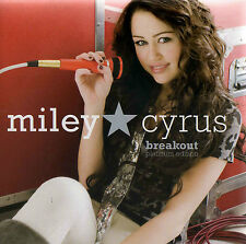 MILEY CYRUS - BREAKOUT - OZ PLATINUM EDITION CD / DVD - LIKE NEW