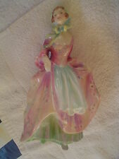"""ROYAL DOULTON FIGURINE AN EARLY VERSION OF """"SUZETTE""""  - HAND WRITTEN HN 2026"""