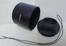 43 mm Metal Camera Lens Hood + 52mm Cap for Tele Lens 43TC52