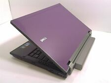 "#141 Dell Latitude E4310 13"" Purple Laptop Intel i5 2.40GHz 4GB 250GB Windows 7"