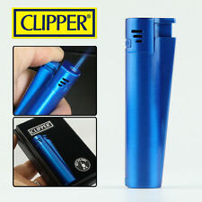 Jet flame clipper lighters Blue color metal electronic clipper lighters,MEF-BLUE