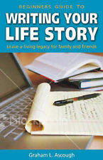 Beginners Guide to Writing Your Life Story, Ascough, C., Ascough, G.L., New Cond