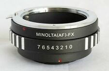 Sony Alpha Minolta AF Lens to Fujifilm X-Pro1 Lens Mount Adapter FX Mount MA-FX