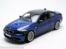 MOTORMAX BMW M3 COUPE BLUE CARBON FIBER ROOF 1/18 Diecast Car 73182BL