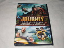 Journey To The Center Of The Earth+Journey 2: Mysterious Island DVD's NEW Sealed