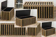 LIGHT HoPstiBox Gartenbox Auflagenbox Kiste Truhe Aufbewahrung Kissenbox Holz