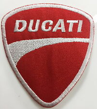 red Ducati corse Biker Jacket Iron on Patch Badge patch no-309