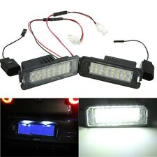 2pcs 24 LED Error Free License Plate Light Canbus For VW Passat Golf GTI MK5 12V
